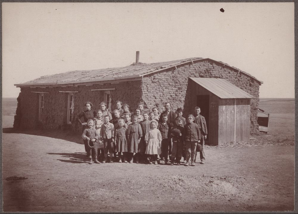 Sod Schoolhouse, Thomas County, Kansas