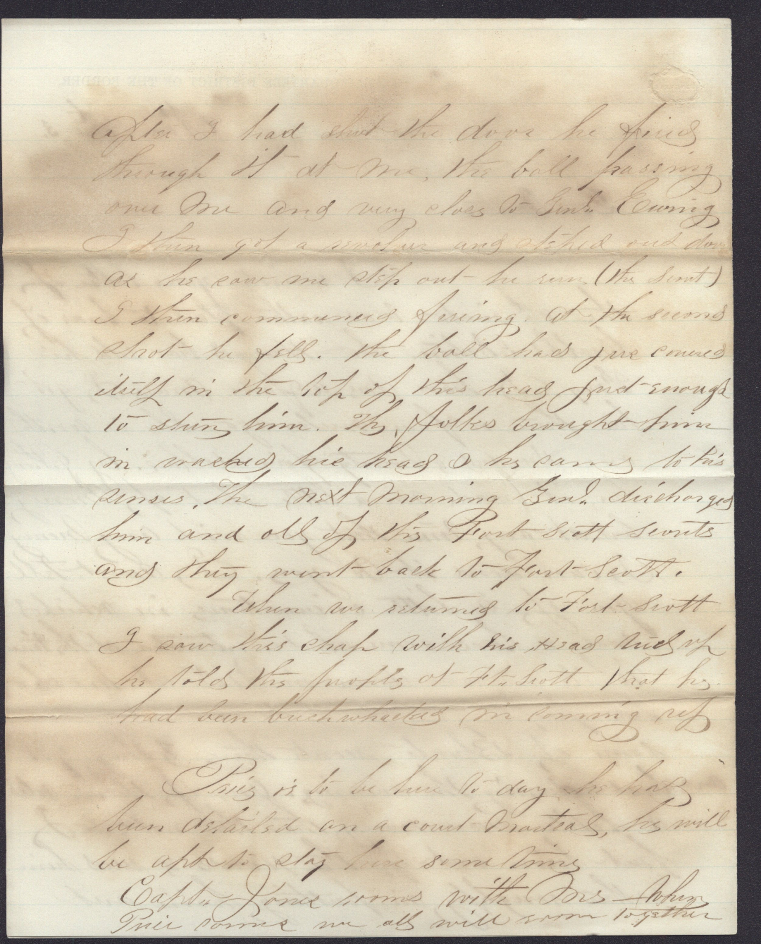 Cyrus Leland, Jr. to Mother and other family members - 6