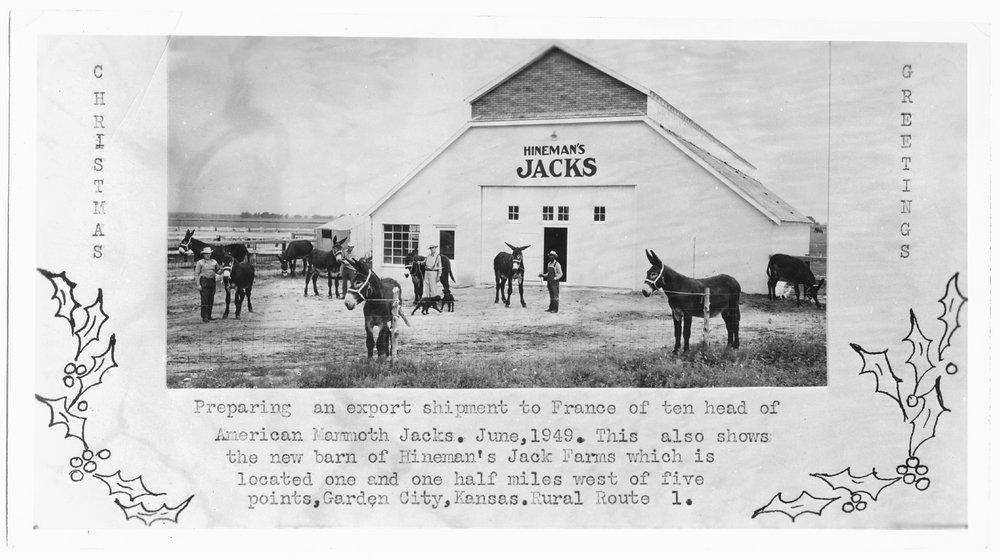 Hineman's Jack Farm, near Garden City, Finney County, Kansas