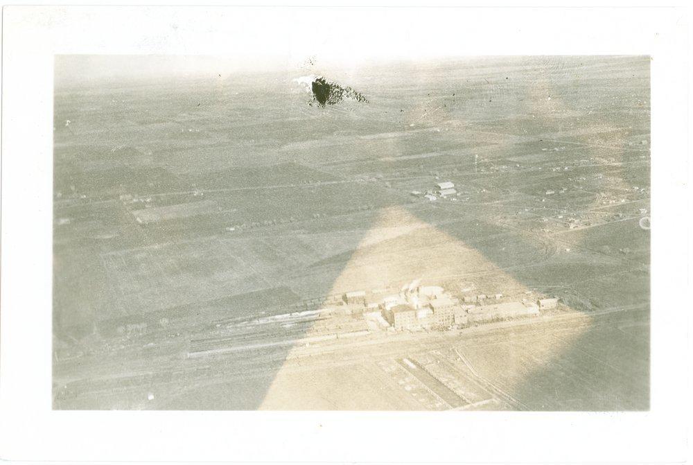 Aerial view of Garden City, Finney County, Kansas