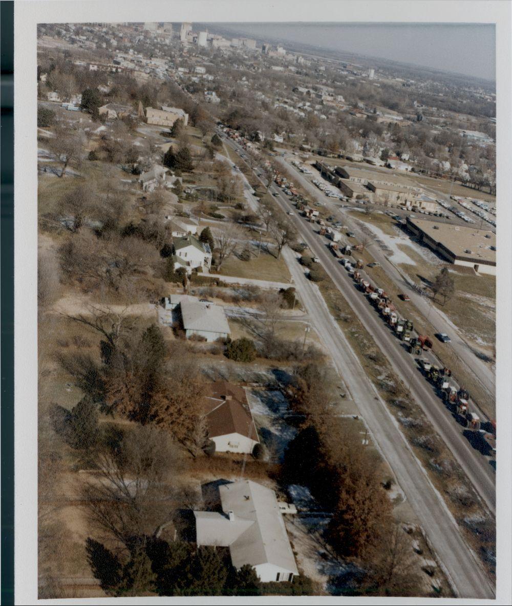 Tractorcade, Topeka, Kansas - 7