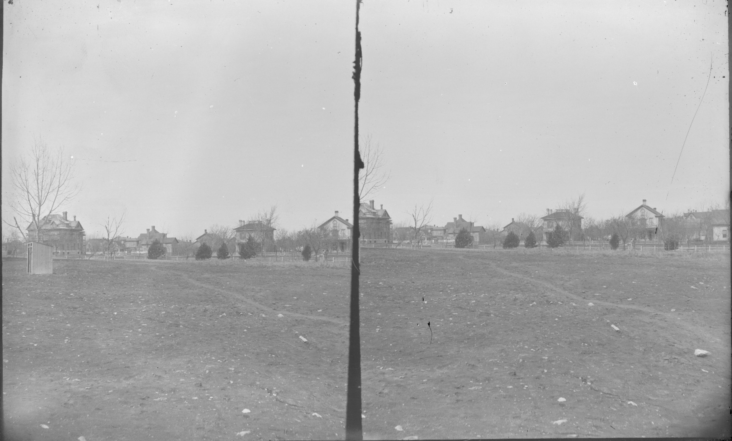 Fort Lyon and Fort Union - Unidentified buildings. Neg #10