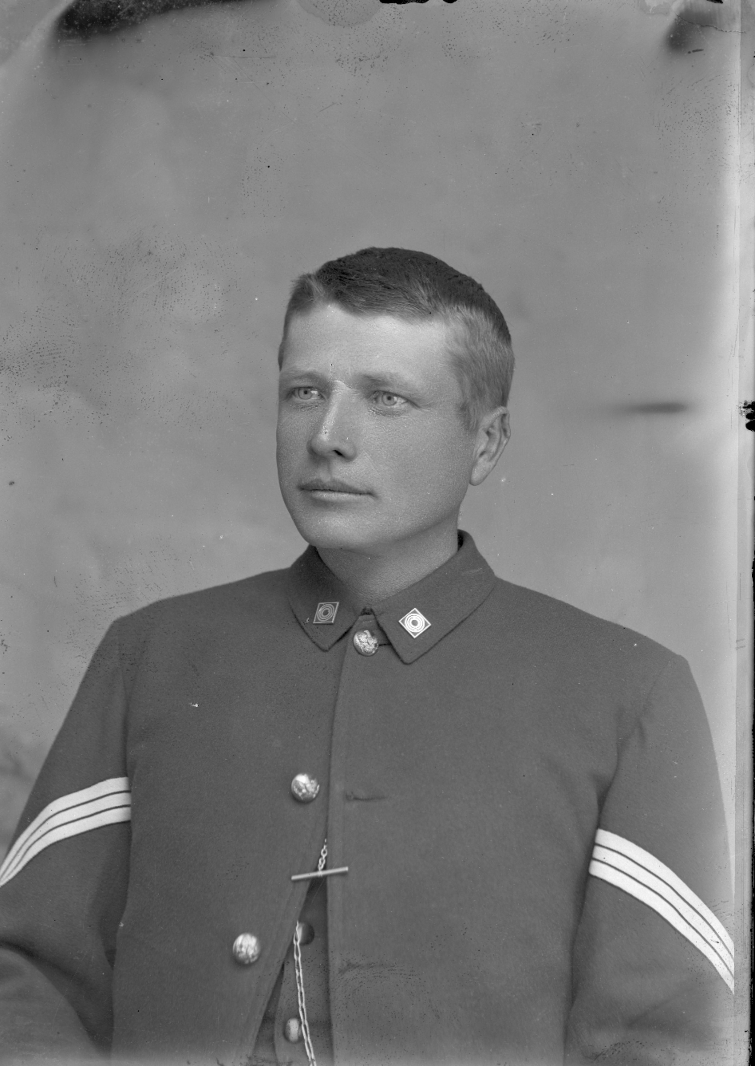 Fort Lyon and Fort Union - Unidentified sergeant. Neg #12