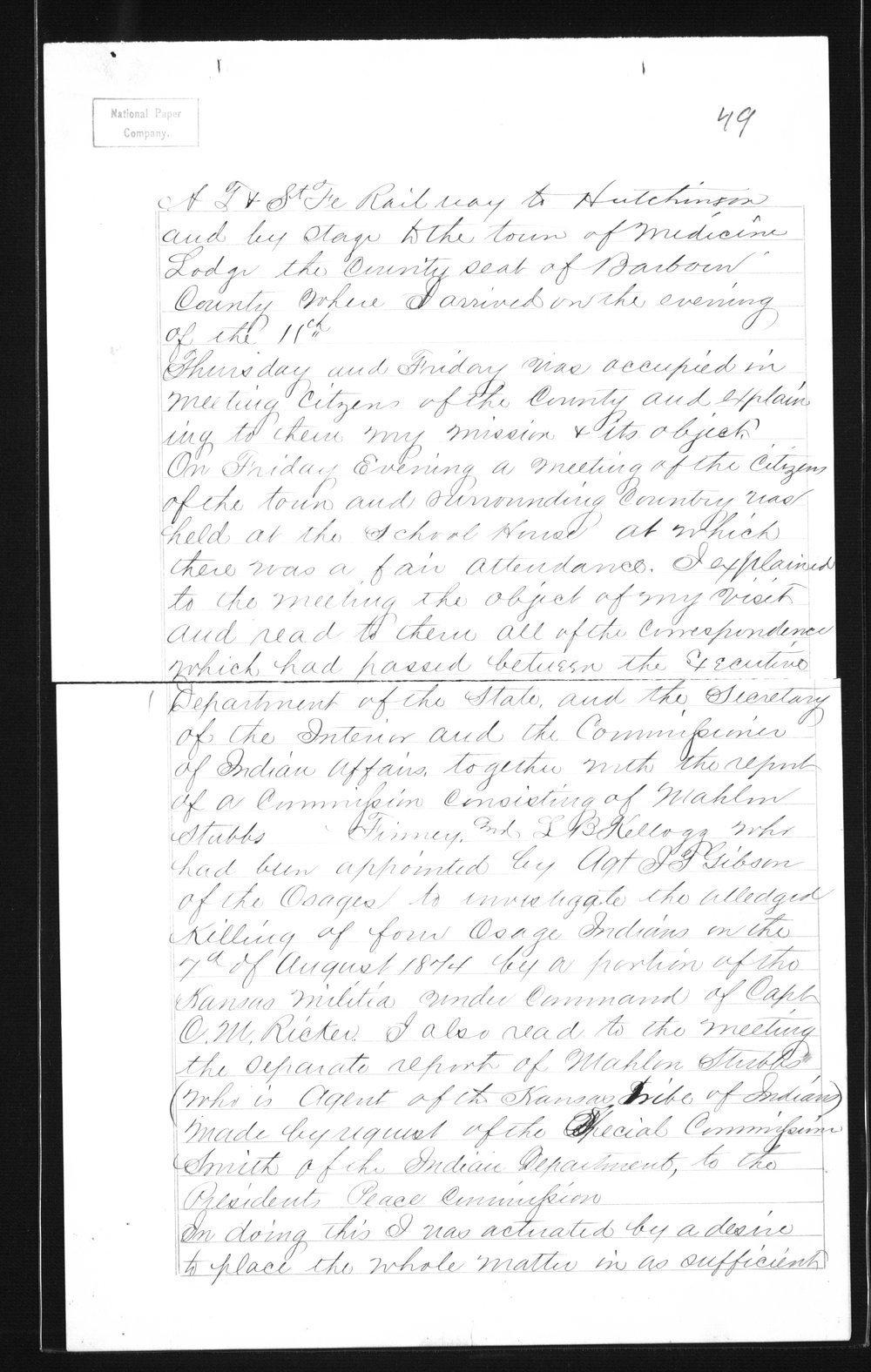 Captain Lewis Hanback's final report - 49