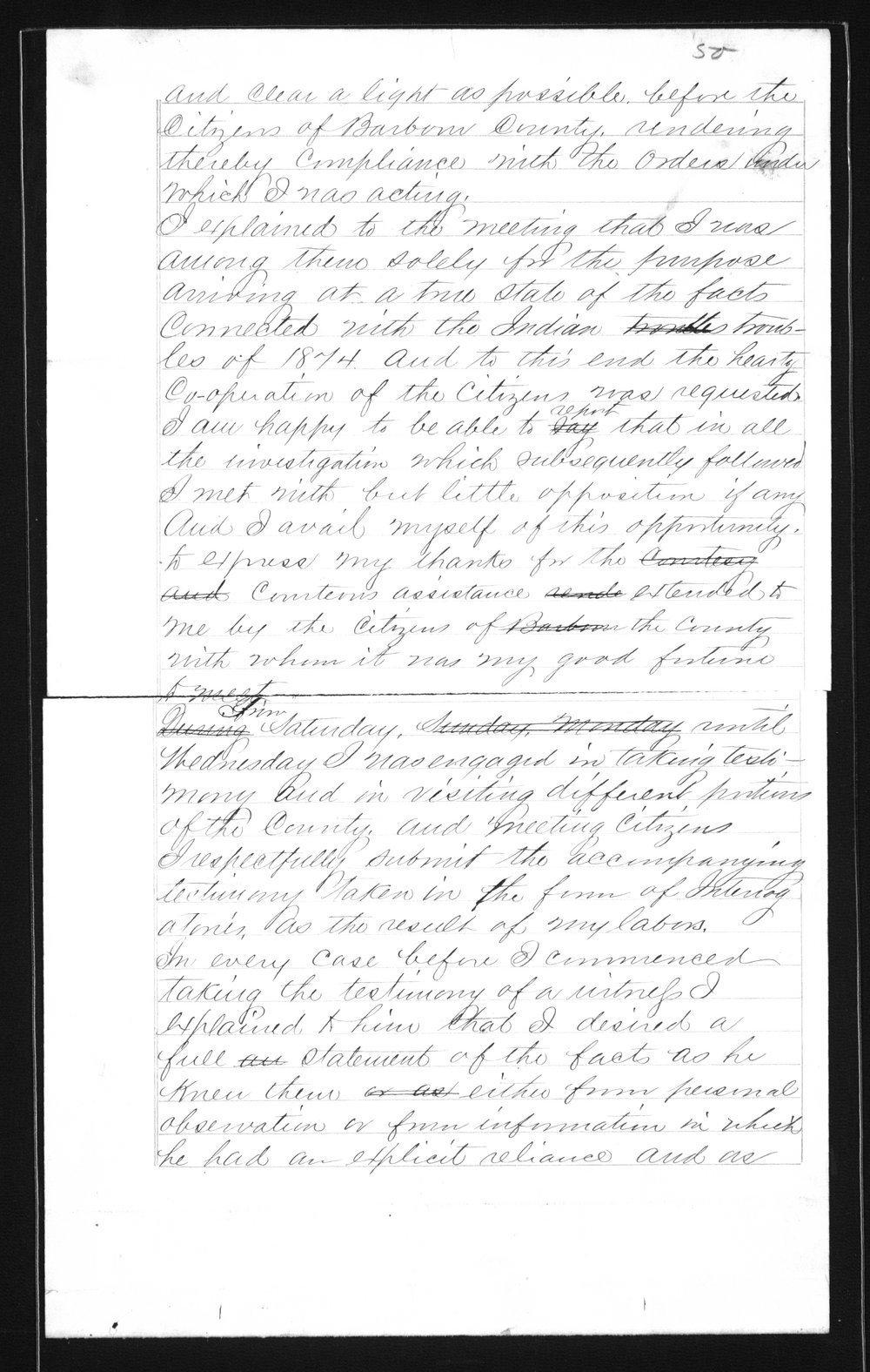 Captain Lewis Hanback's final report - 50