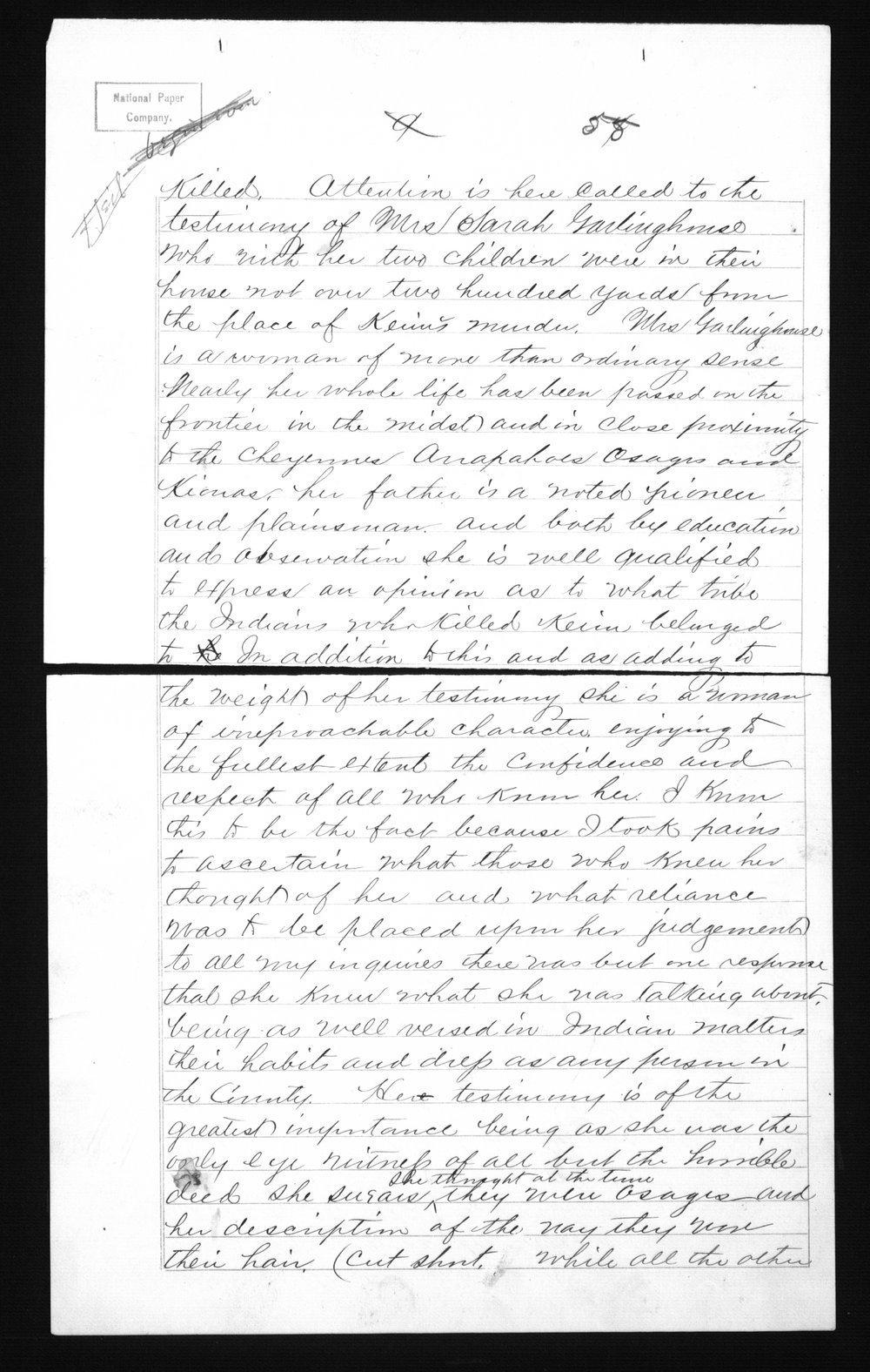 Captain Lewis Hanback's final report - 55