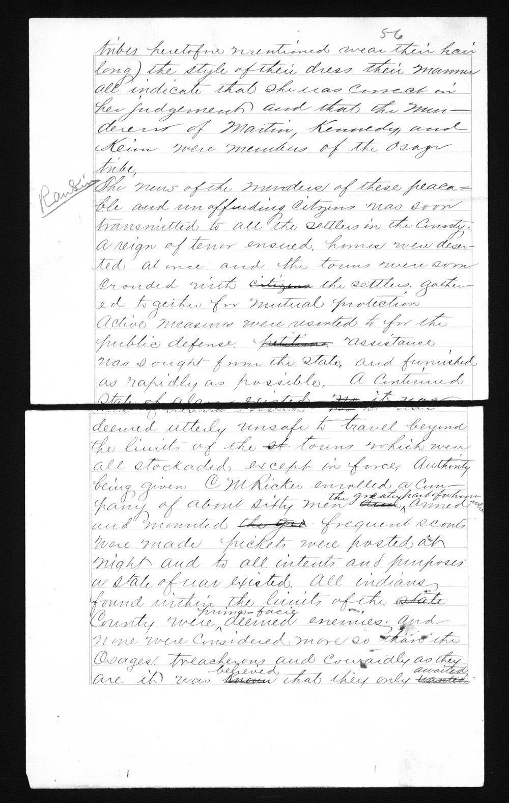 Captain Lewis Hanback's final report - 56