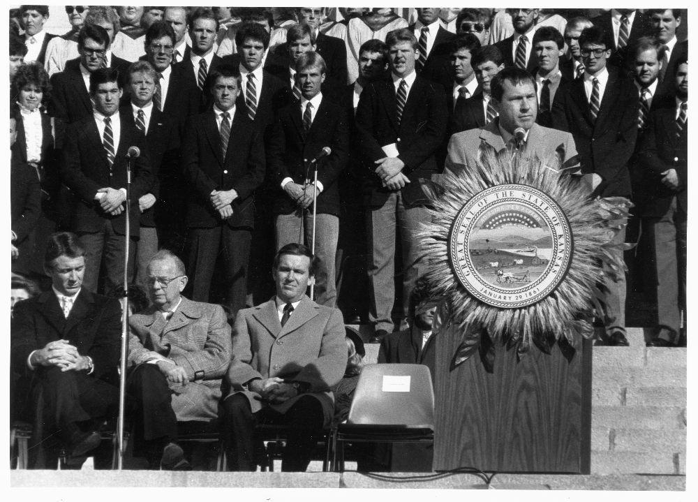 John Michael (Mike) Hayden, Kansas Governor