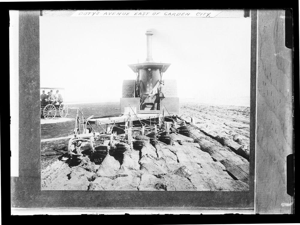 Plowing, Finney County, Kansas