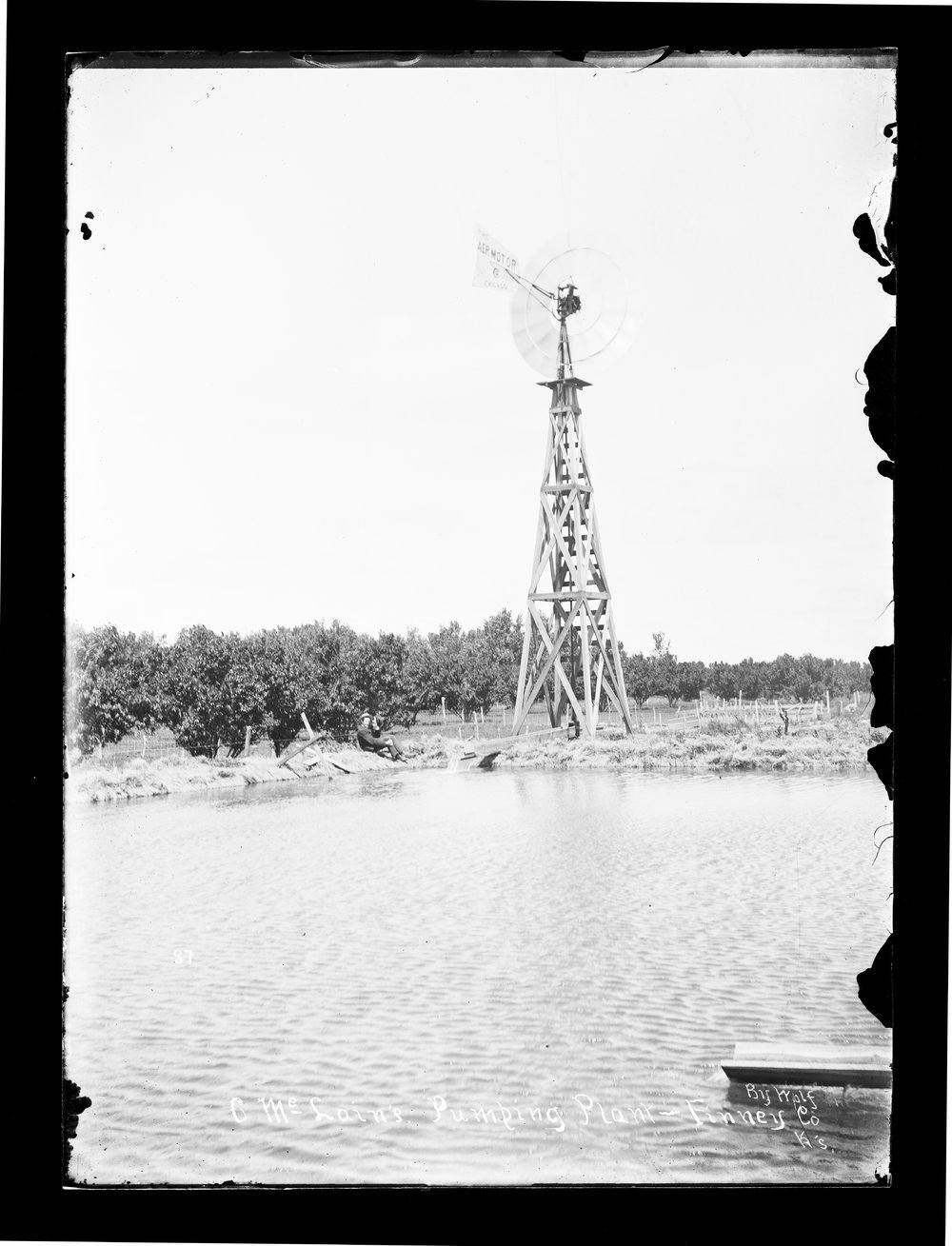 C. McLain's pumping plant, Finney County, Kansas