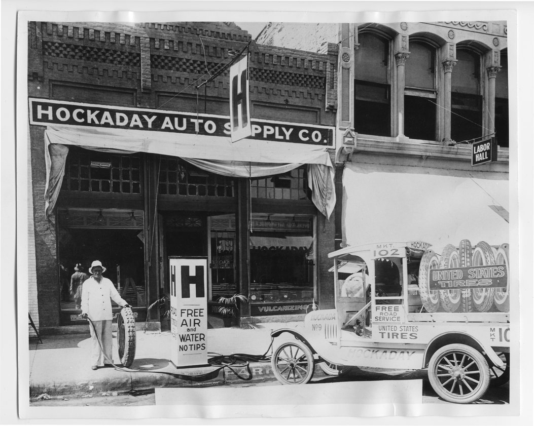 Hockaday Auto Supply Company and Service Station, Arkansas City, Kansas