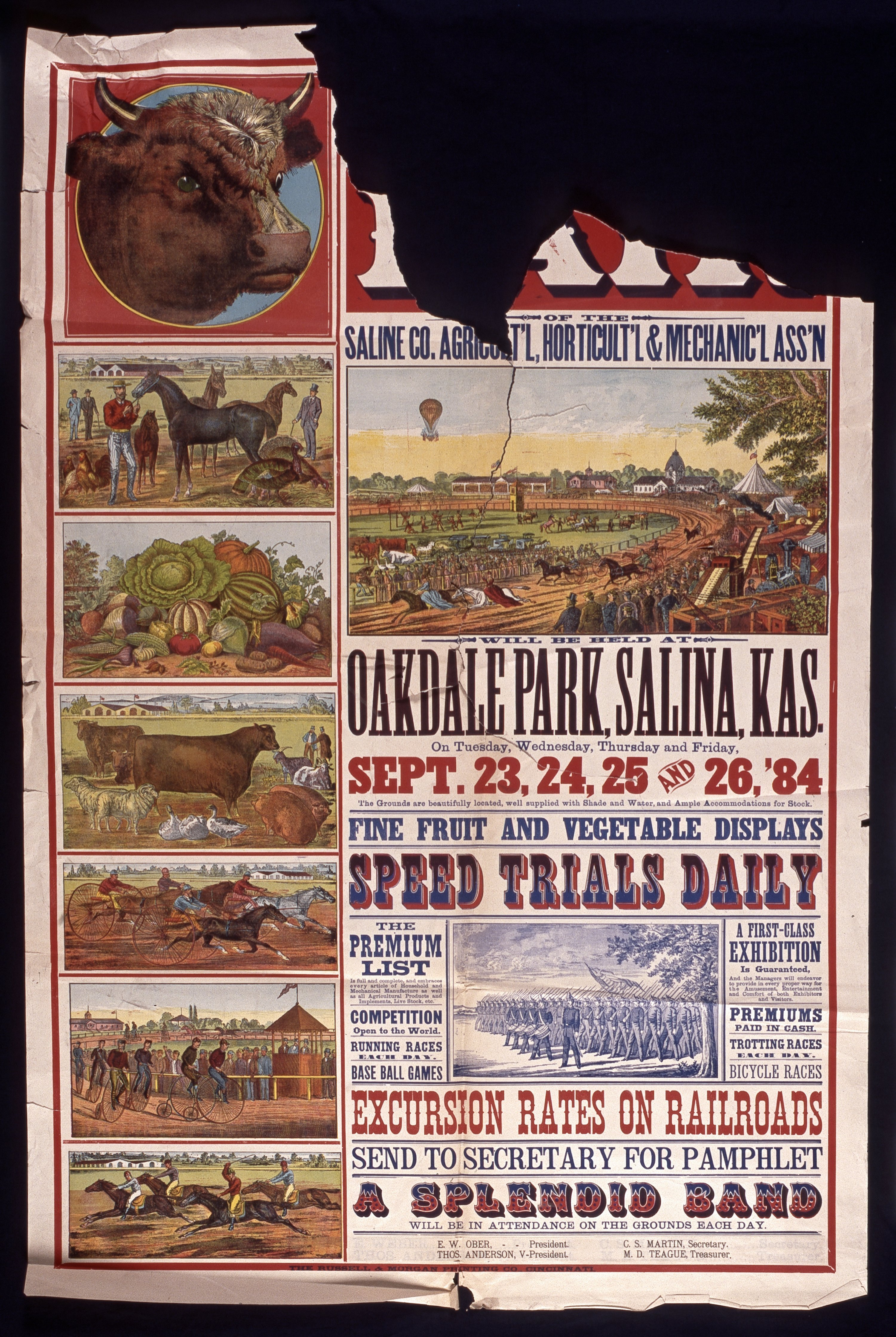Annual fair of the Saline County Agricultural, Horticultural & Mechanical Association