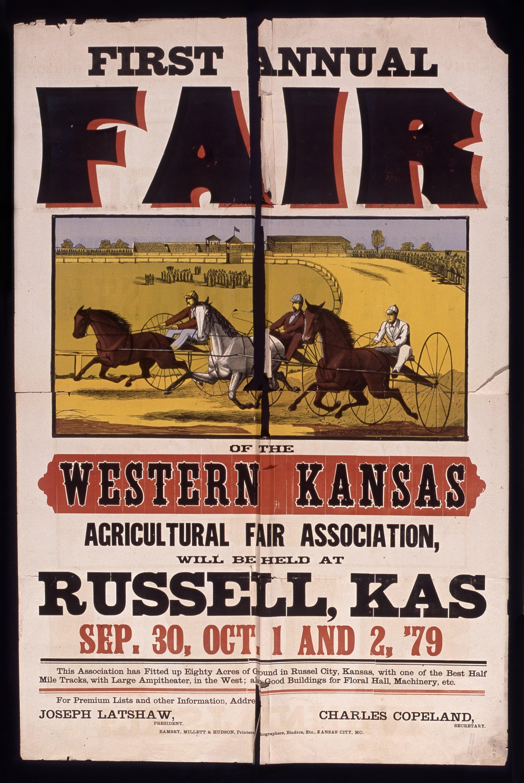 First annual fair of the Western Kansas Agricultural Fair Association