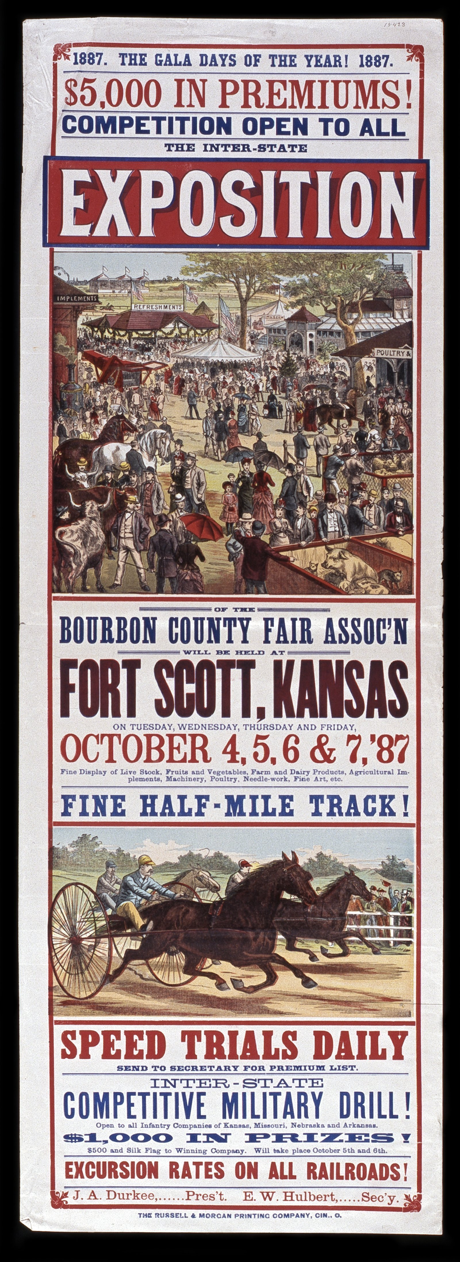 The inter-state exposition of the Bourbon County Fair Association