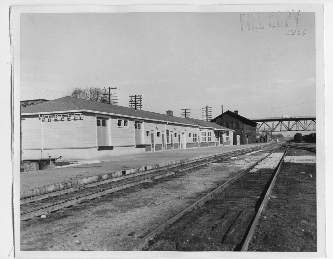Atchison Topeka & Santa Fe Railway Company depots, Purcell, Oklahoma