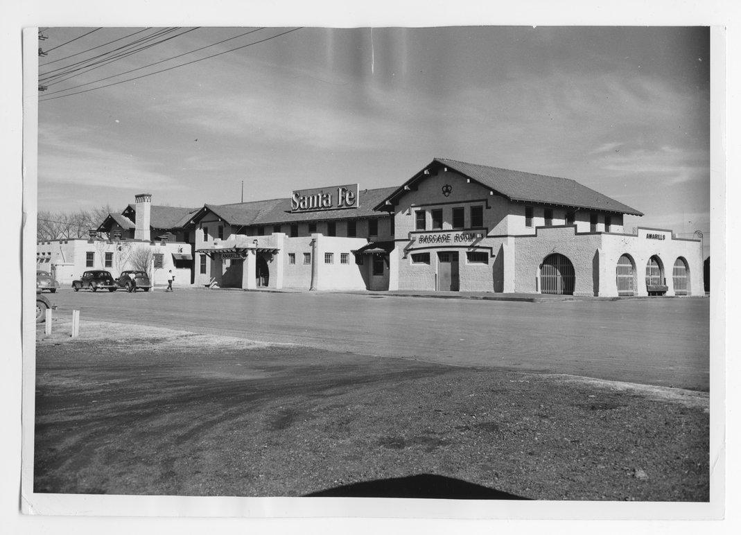 Panhandle & Santa Fe Railway Company depot, Amarillo, Texas