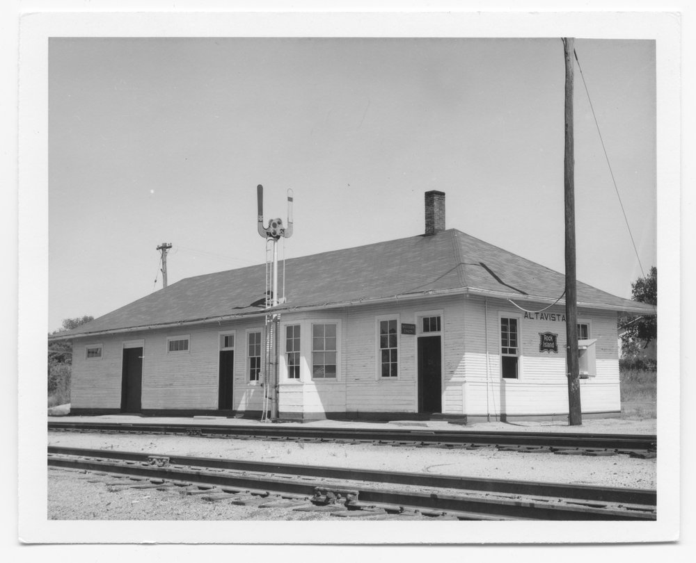 Chicago, Rock Island and Pacific Railroad depot, Alta Vista, Kansas