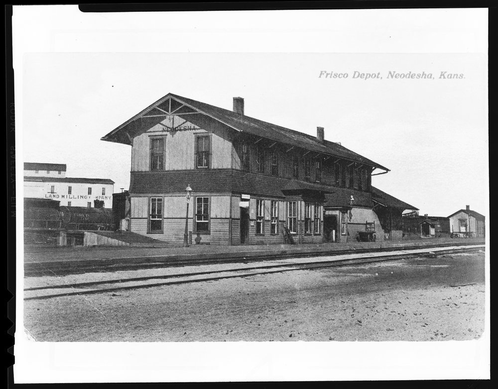 St. Louis-San Francisco Railway depot, Neodesha, Kansas