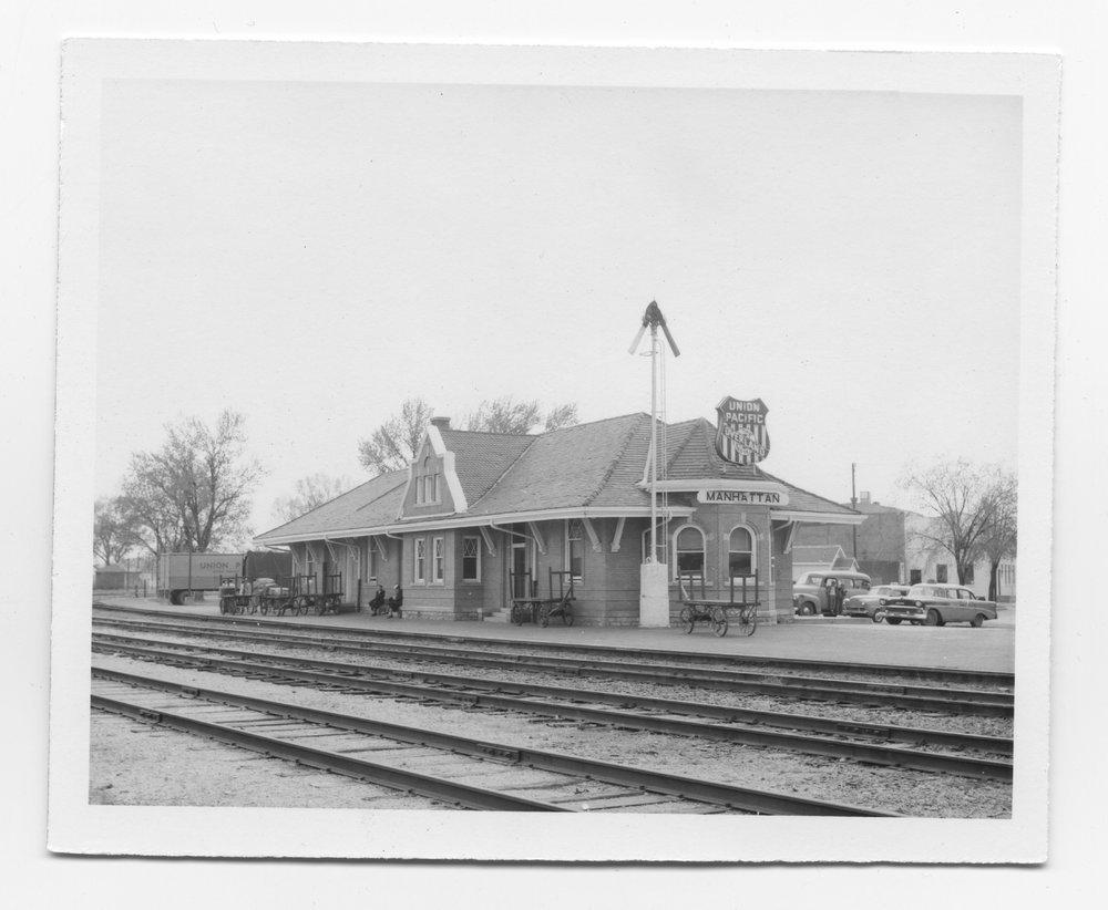 Union Pacific Railroad depot, Manhattan, Kansas