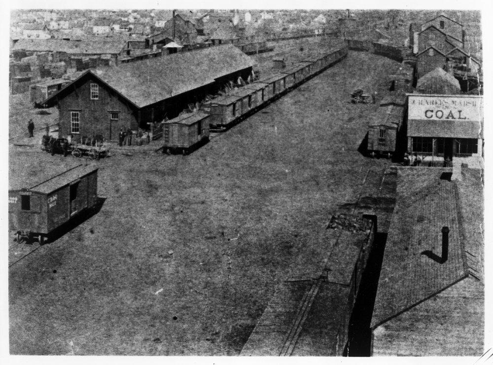 Atchison, Topeka & Santa Fe Railway Company depot, Wichita, Kansas