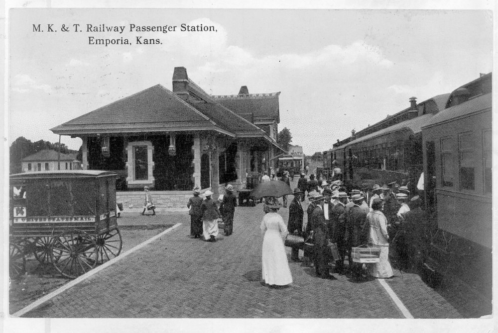 Missouri- Kansas-Texas passenger depot, Emporia, Kansas - 1