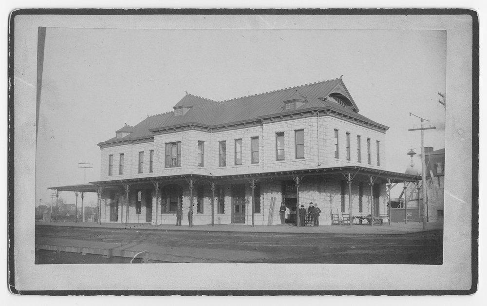 Atchison, Topeka & Santa Fe Railway Company depot, Ottawa, Kansas - 1