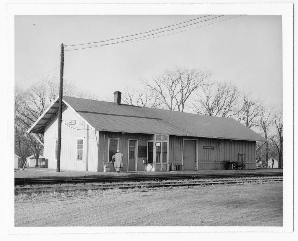 St. Louis-San Francisco Railway depot, La Cygne, Kansas - 1