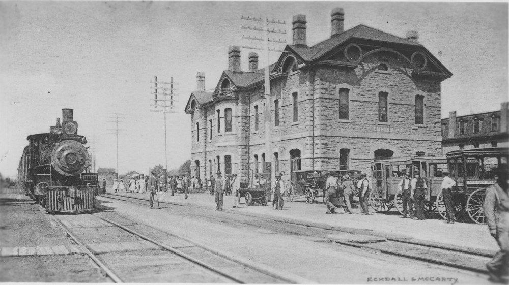 Atchison,Topeka & Santa Fe Railway Company depot, Emporia, Kansas