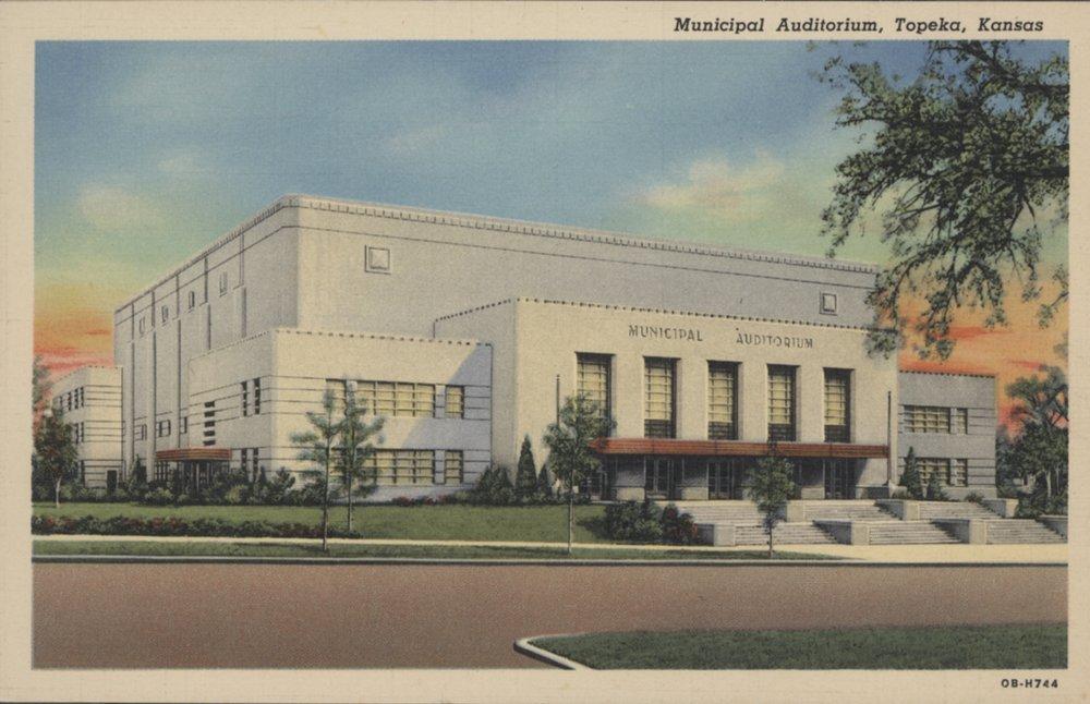 Municipal Auditorium, Topeka, Kansas