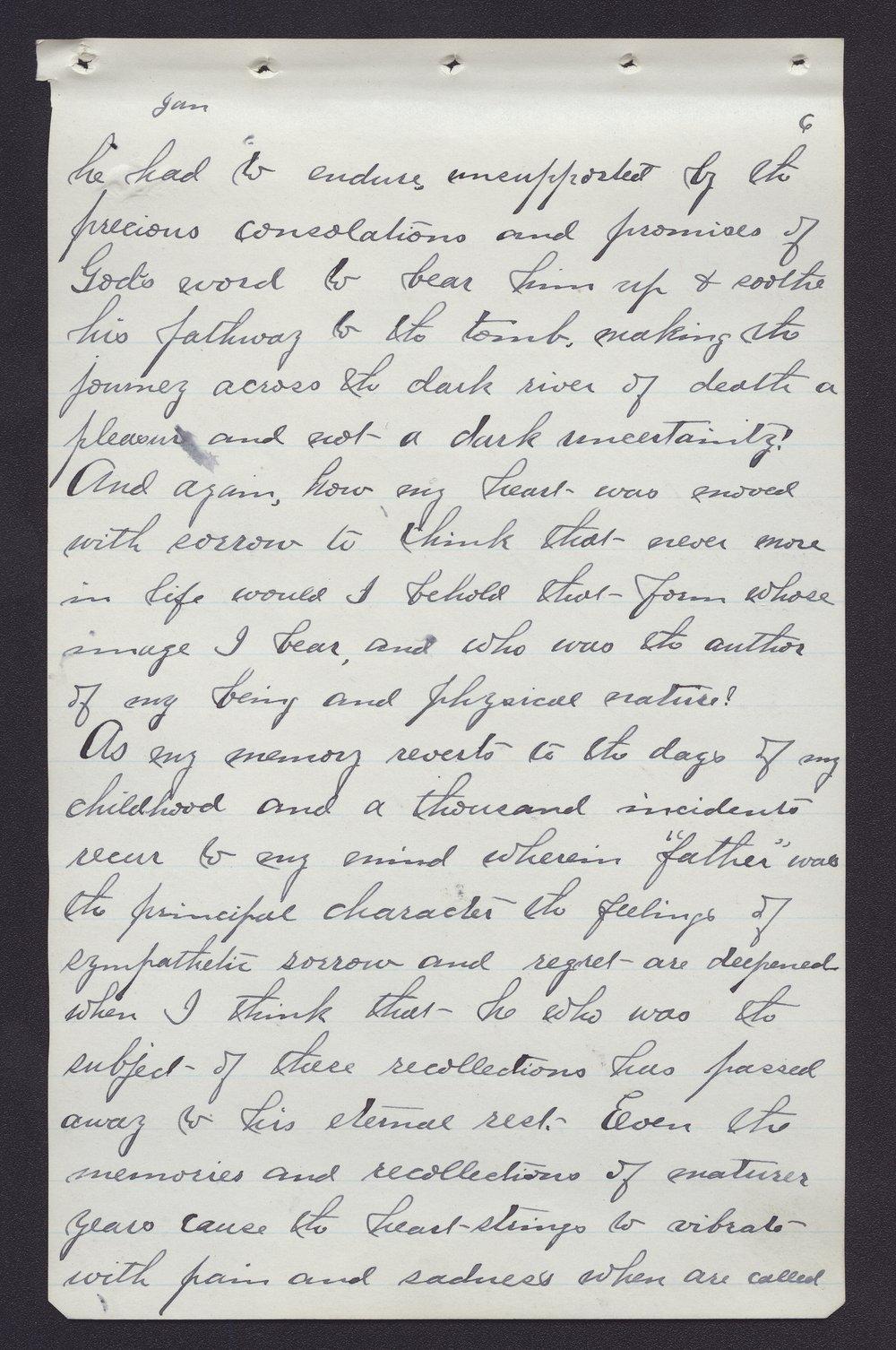 Elam Bartholomew diary - Jan 4, 1881 (3)