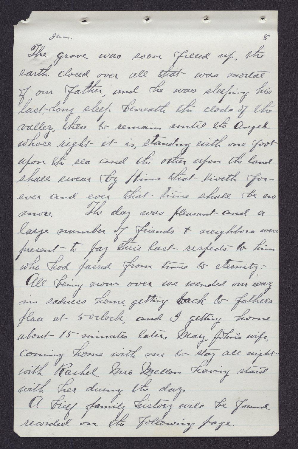 Elam Bartholomew diary - Jan 4, 1881 (5)