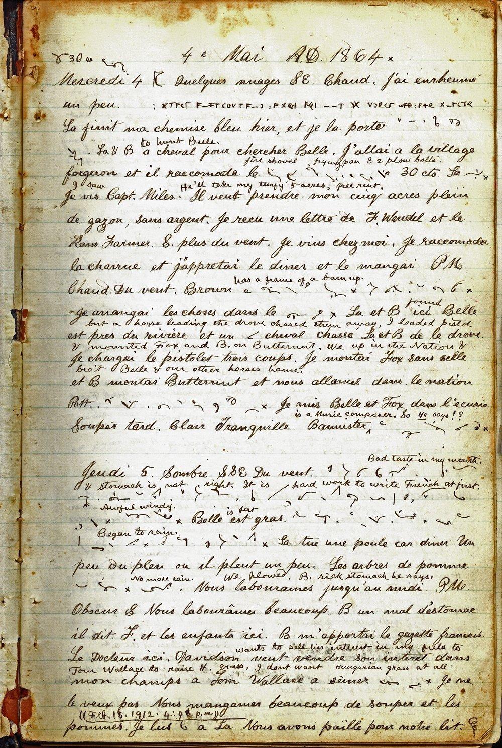 Samuel Reader's diary, volume 6 - 3