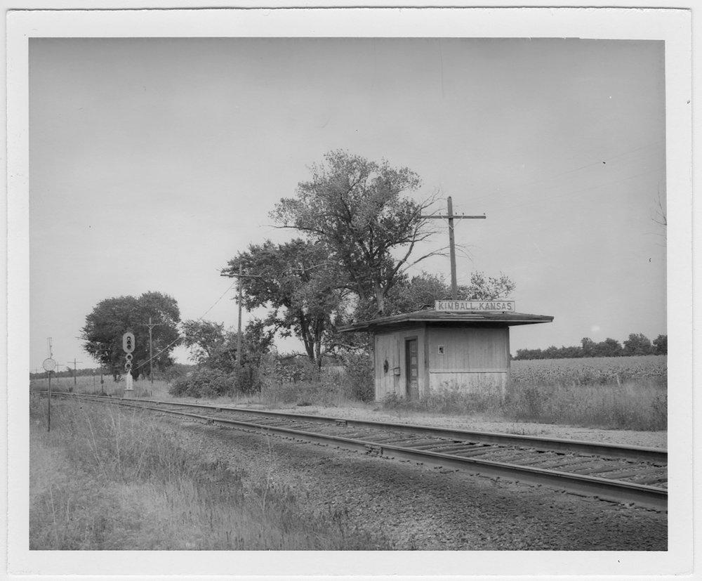 Missouri- Kansas-Texas Railroad depot, Kimball, Kansas