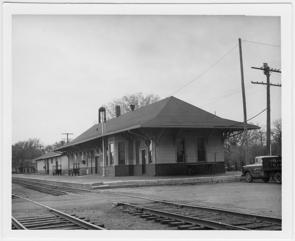 Chicago, Rock Island & Pacific Railroad depot, Manhattan, Kansas