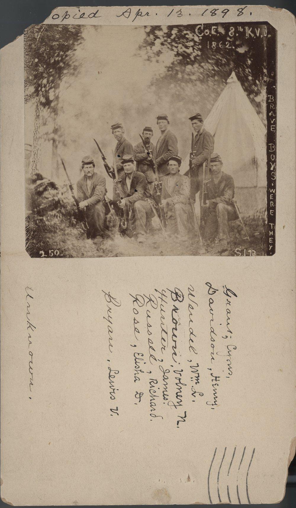 8th Kansas Volunteer Infantry - 1