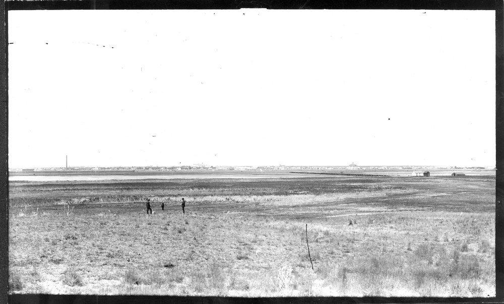 View From The Sand Hills Garden City Finney County Kansas Kansas Memory Kansas Historical