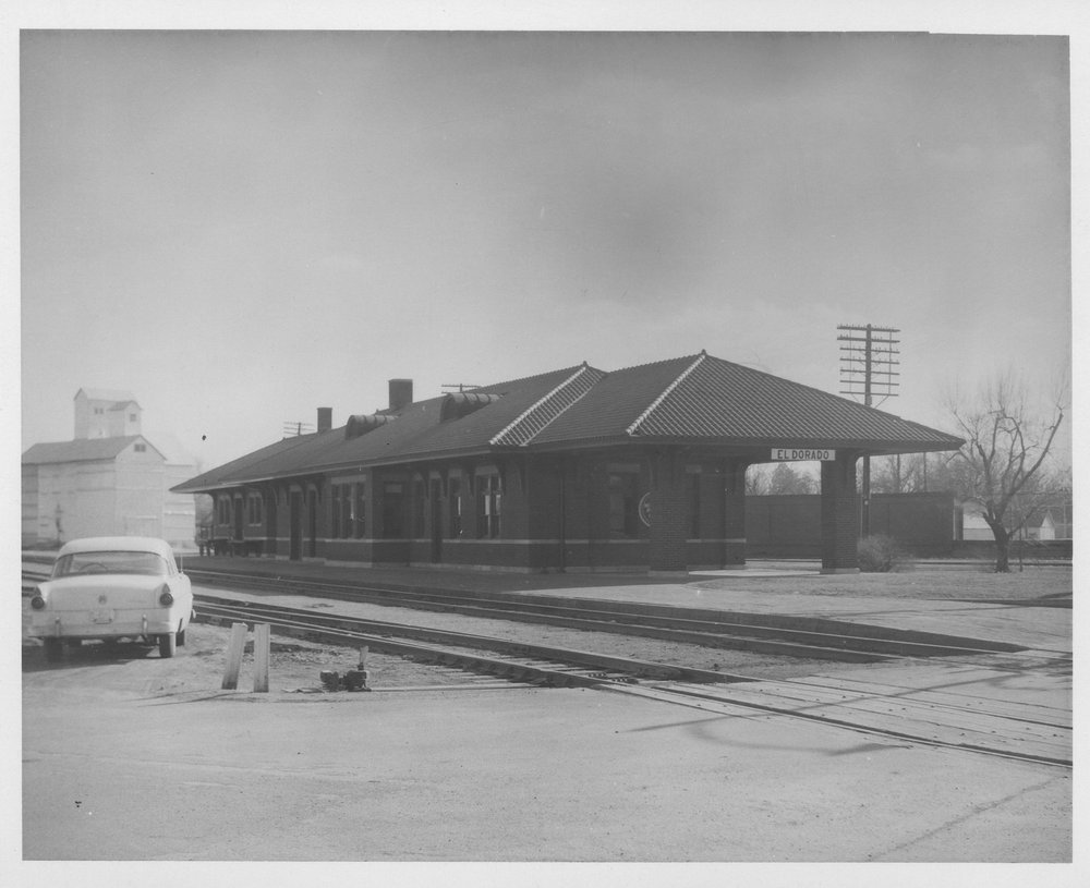 Missouri pacific railroad depot el dorado kansas for Railroad depot plans