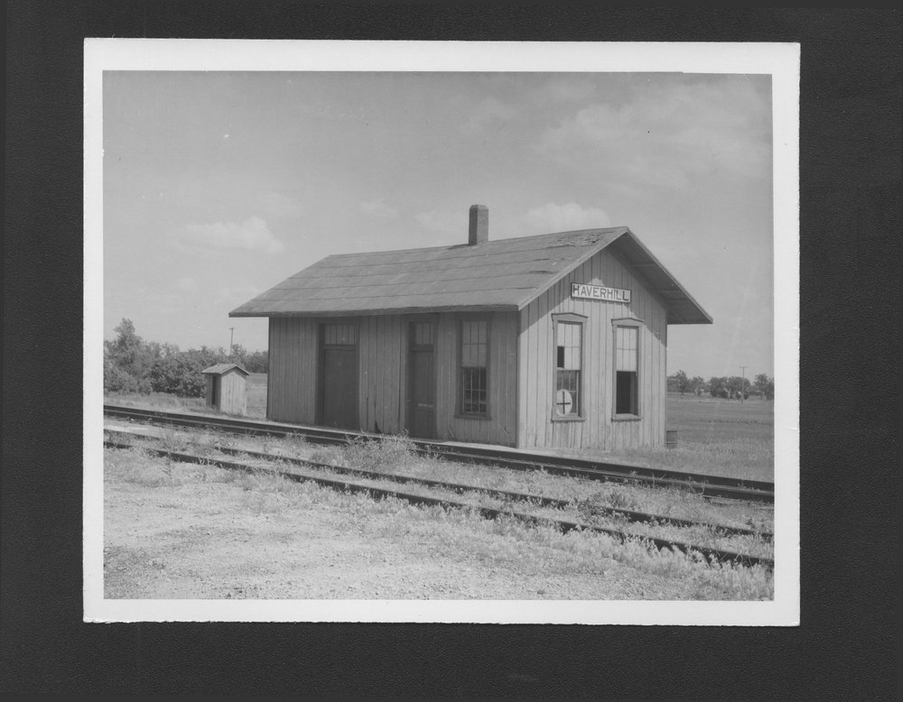 St. Louis-San Francisco Railway depot, Haverhill, Kansas