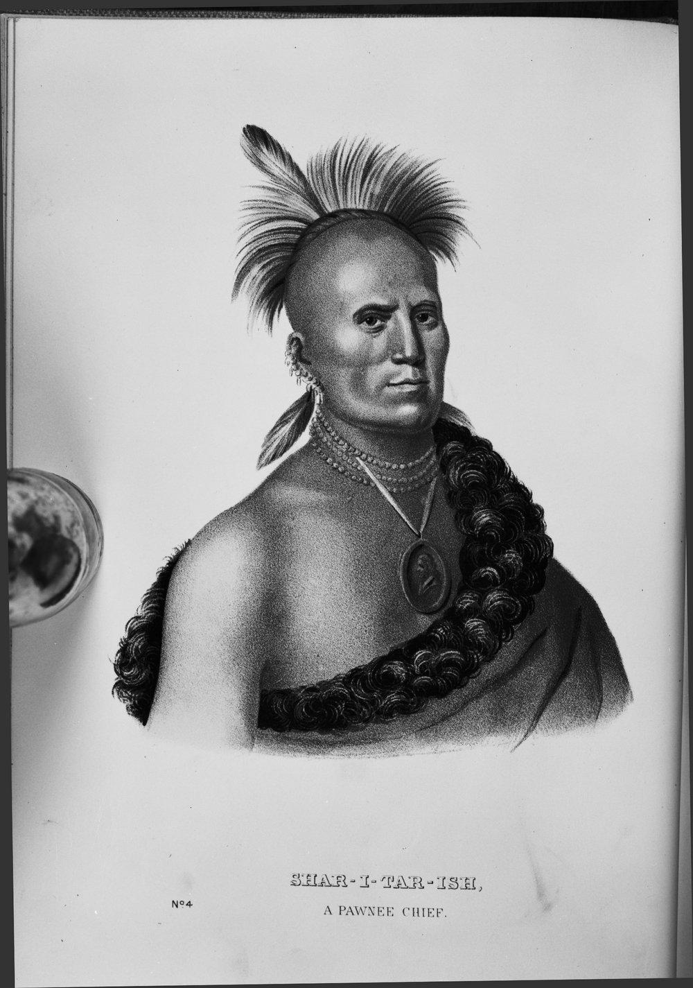 Shar-I-Tar-Ish, Pawnee chief
