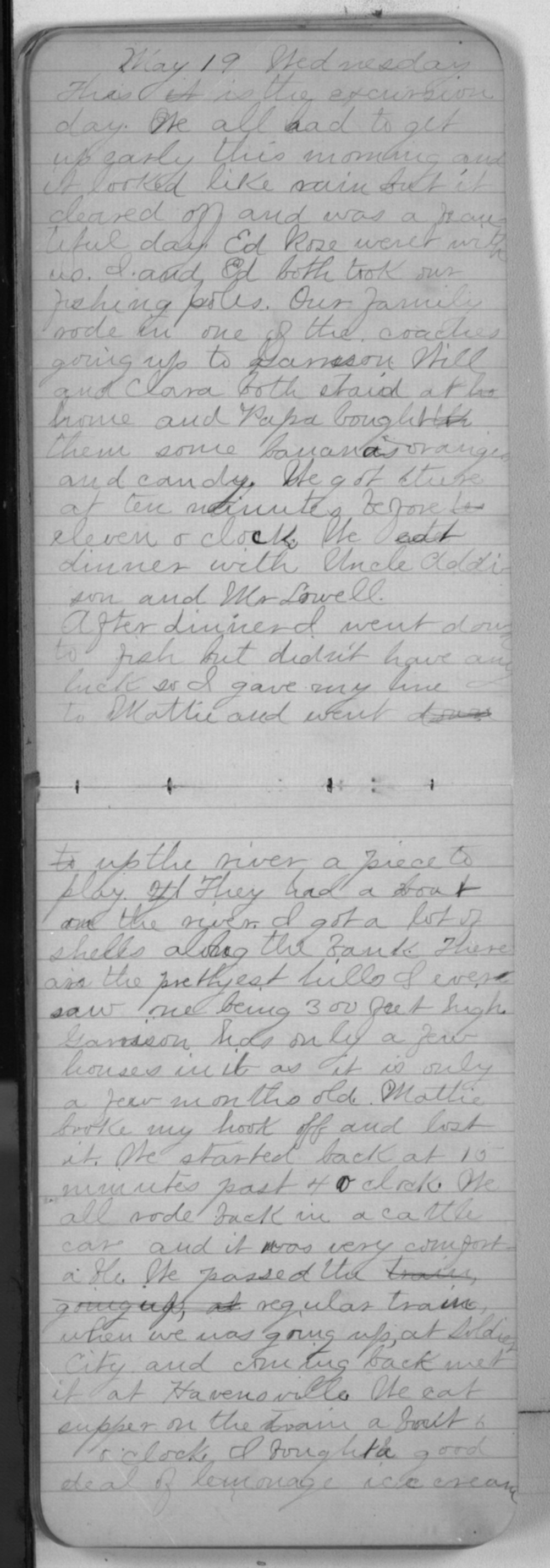 "Edward S. (""Ned"") Beck diaries - May 19, 1880"