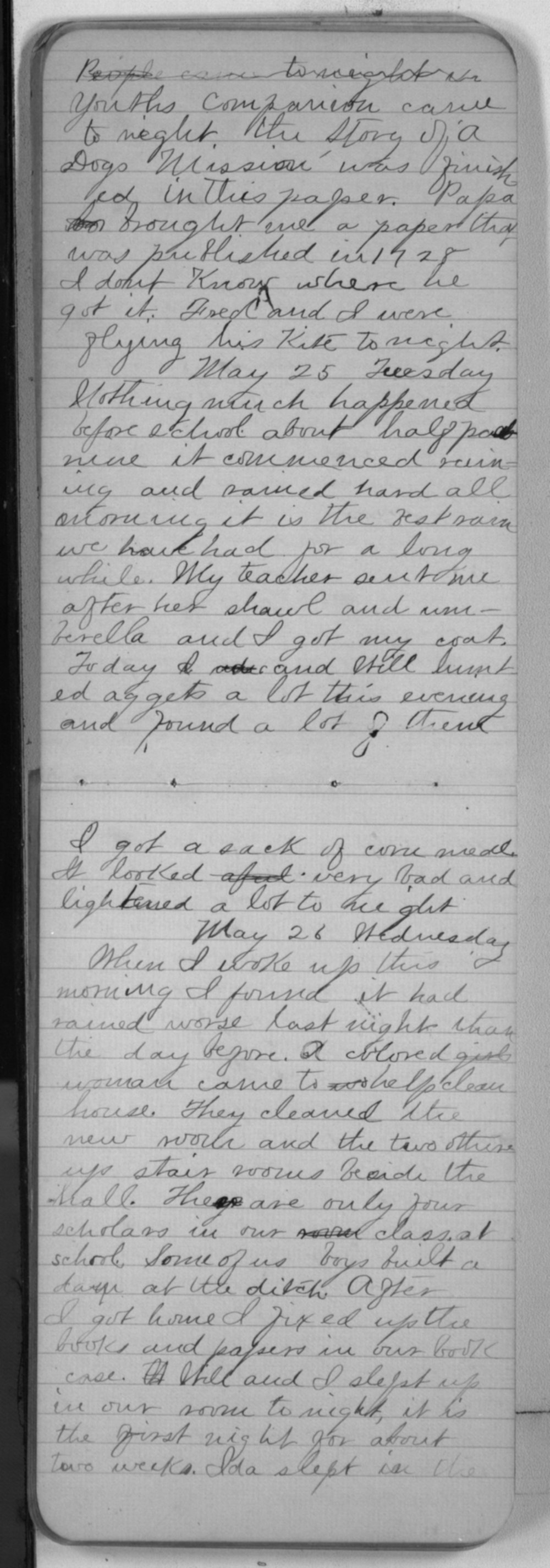 "Edward S. (""Ned"") Beck diaries - May 25, 1880"