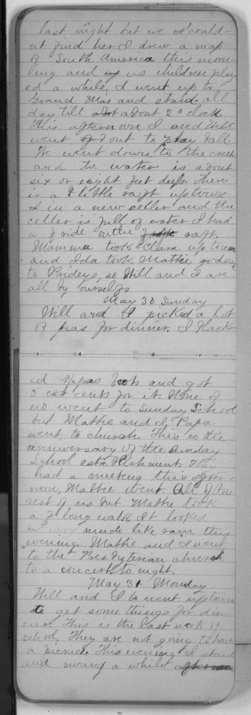 """Edward S. (""""Ned"""") Beck diaries - May 30, 1880"""
