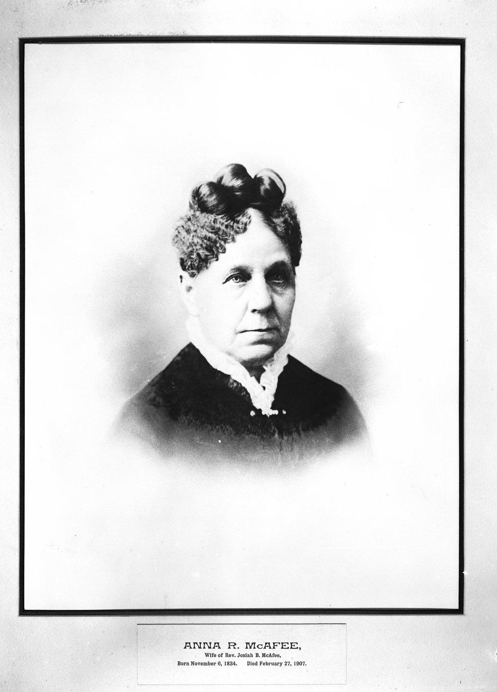 Anna R. Yowler McAfee