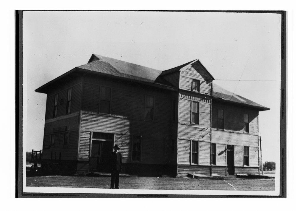 Chicago, Rock Island & Pacific Railroad depot, Caldwell, Kansas