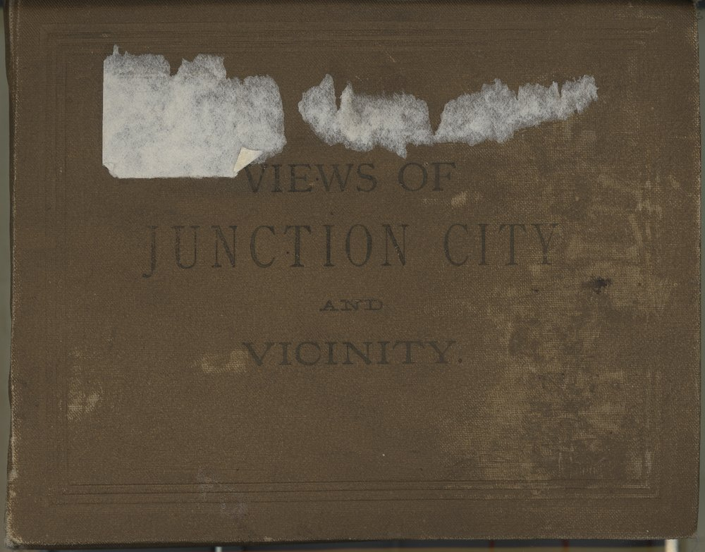 Views of Junction City, Kansas - Front Cover