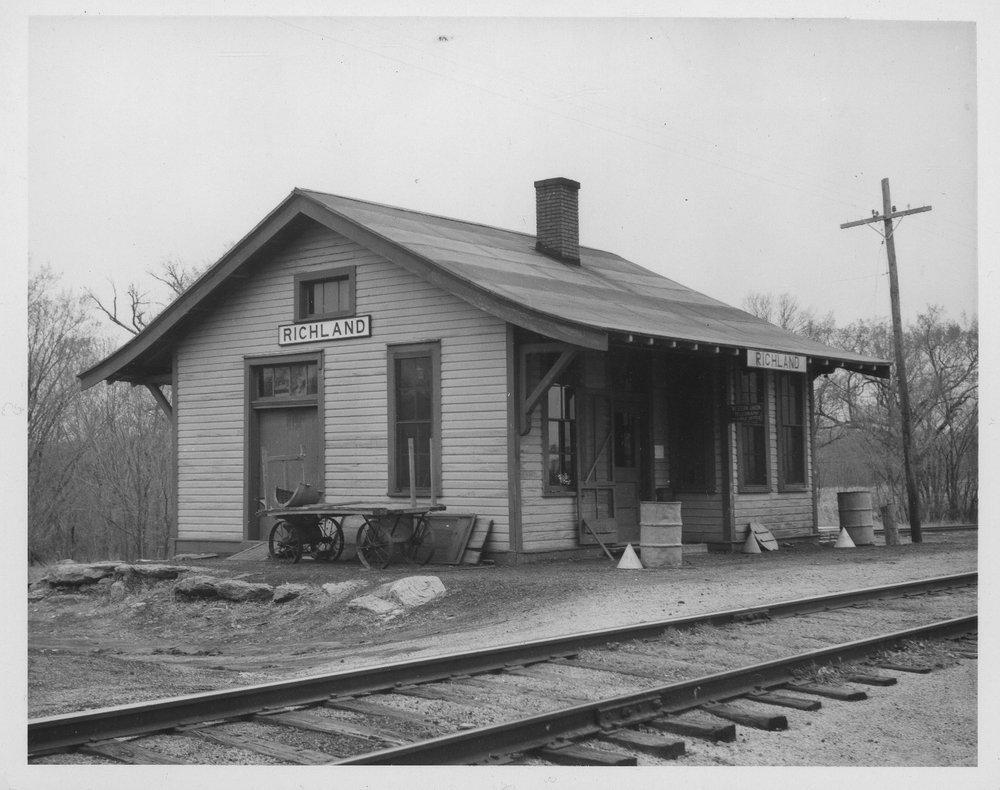 Missouri Pacific Railroad depot, Richland, Kansas