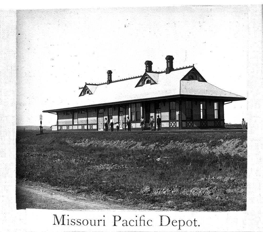 Missouri- Kansas-Texas Railroad depot, Junction City, Kansas