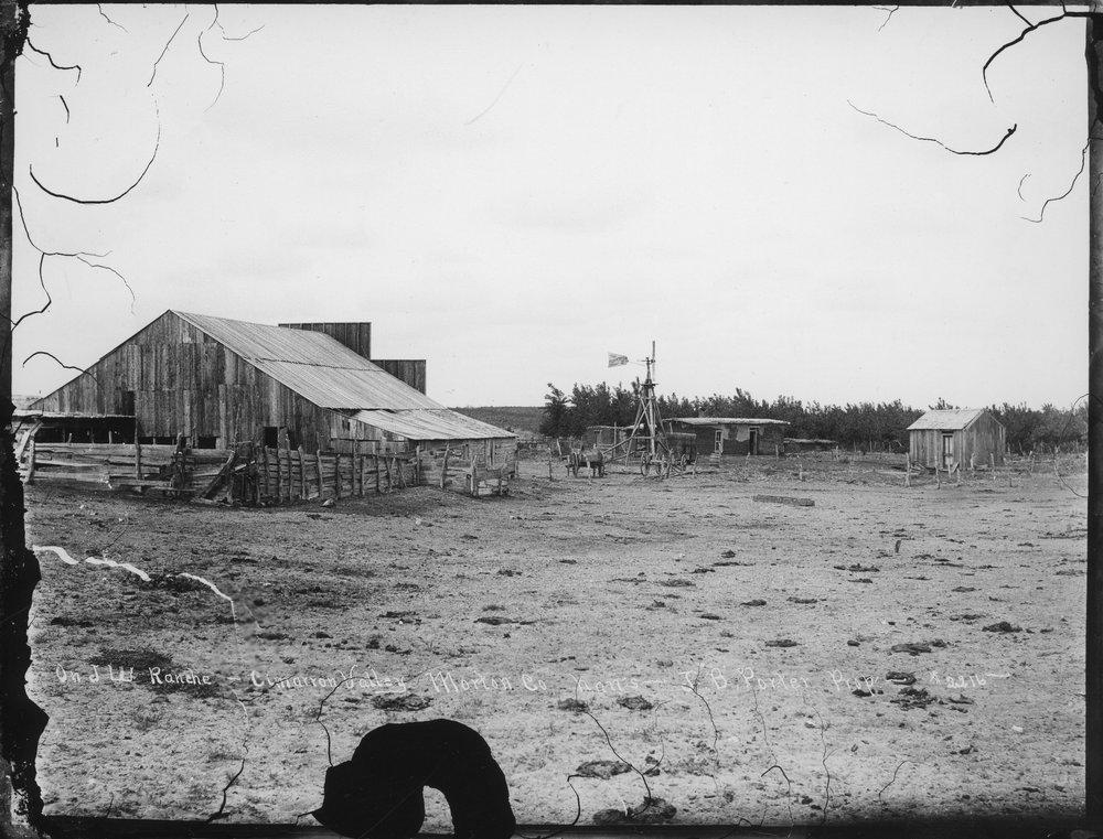 J.W. Ranch, J.B. Porter's property, Morton County, Kansas