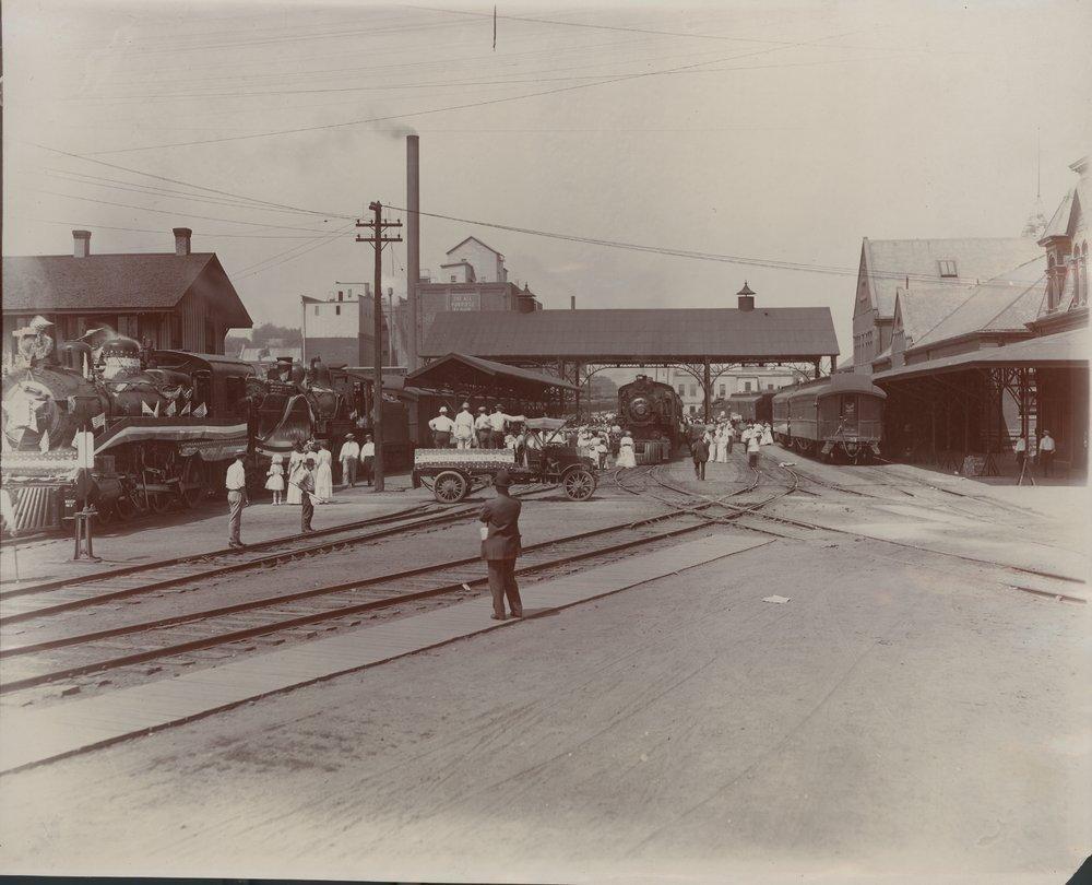 Union depot, Atchison, Kansas
