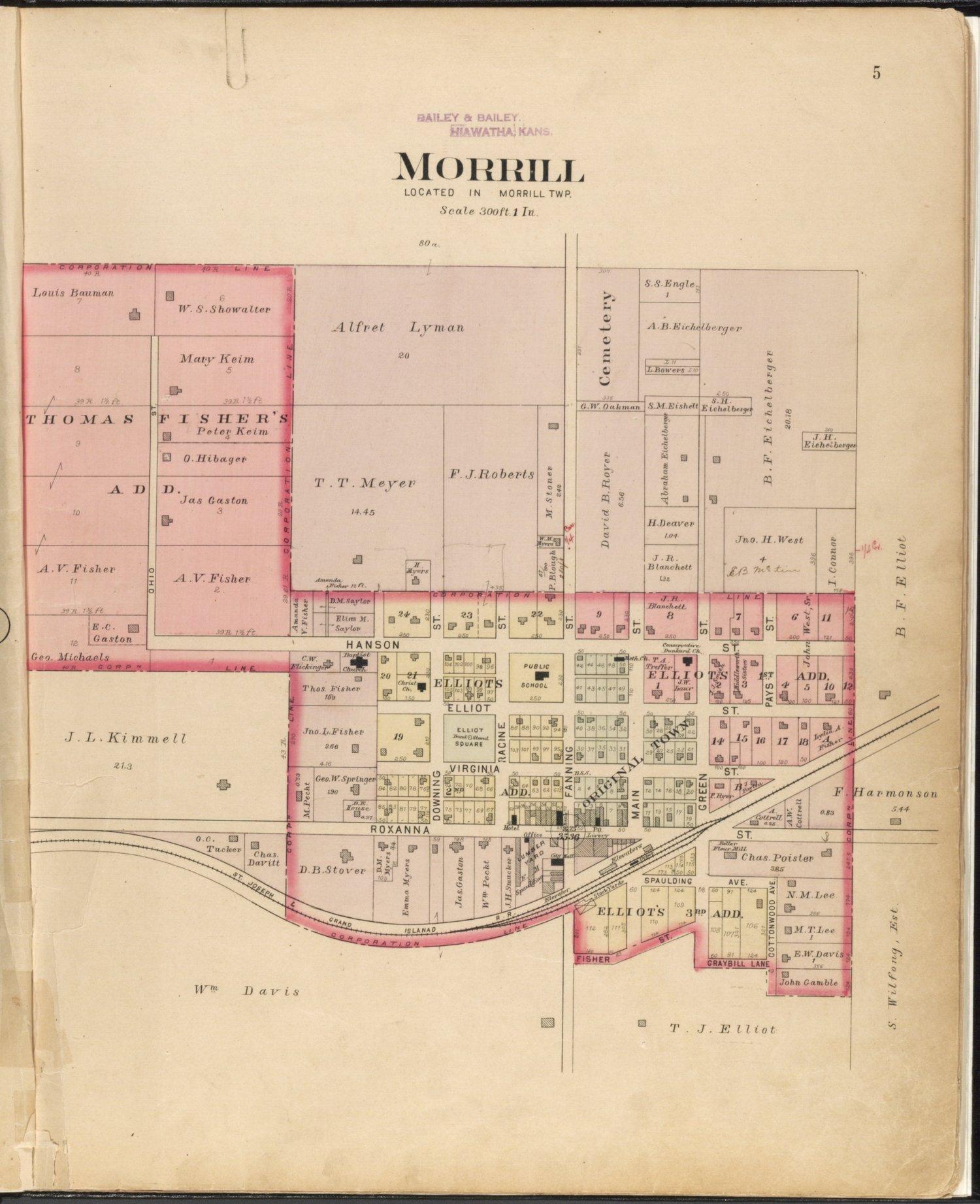 Plat book of Brown County, Kansas - 5
